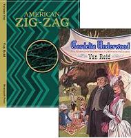 The American Zig-Zag: Volume One and Cordelia Underwood front covers