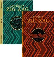 The American Zig-Zag: Volume One and Two front covers